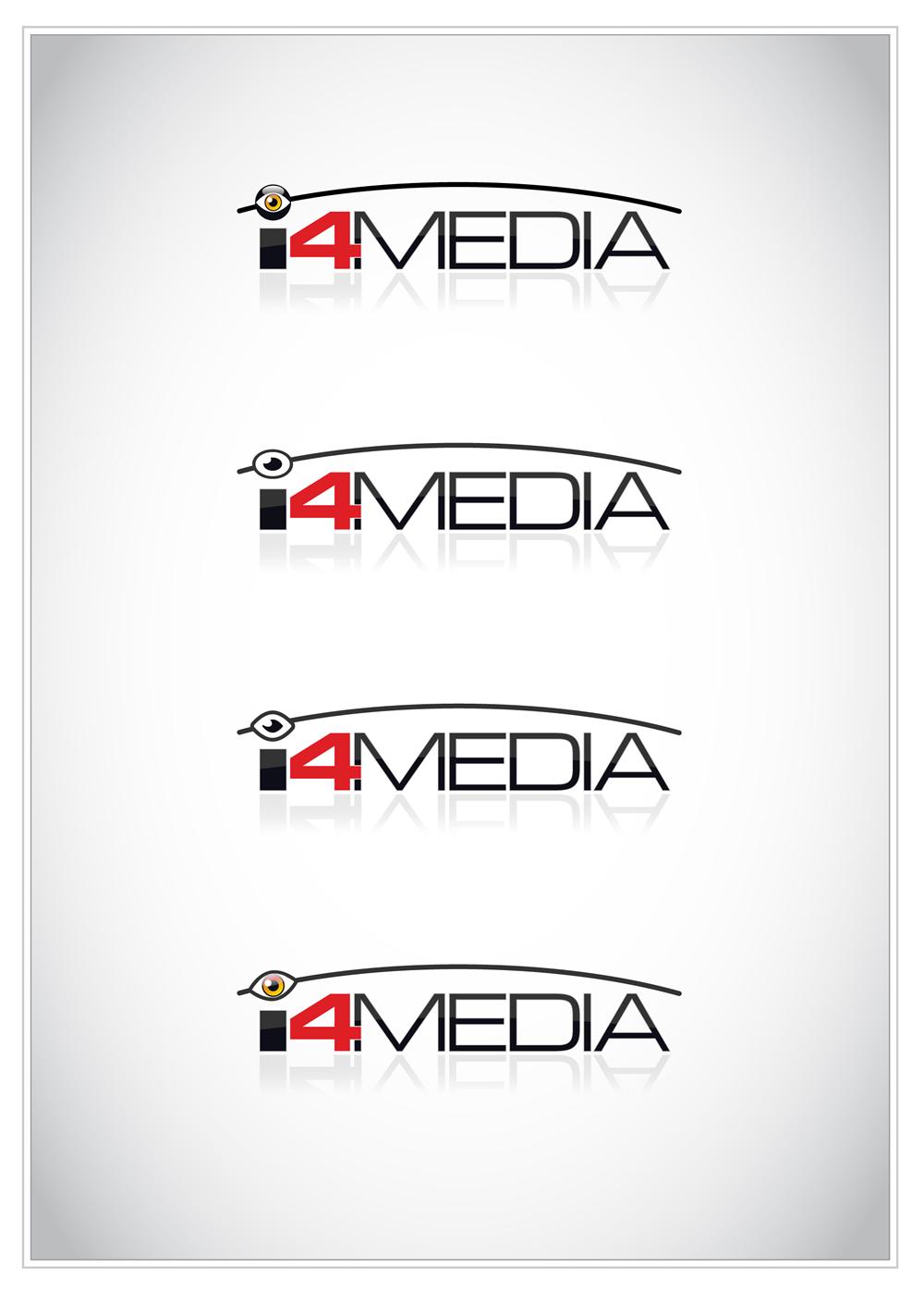 Logo Design job – i4media online logo design for our business needed – Winning design by xenowebdev