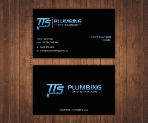 bold modern business card design job business card brief for tts