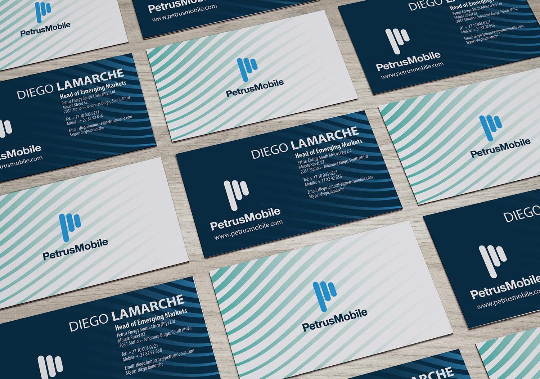 Elegant serious business card design for petrus sa by zhor business card design by zhor signatures for business cards for diego and hyram design colourmoves