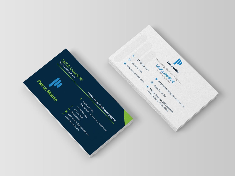 Elegant serious wireless communication business card design for business card design by techmates for petrus sa design 16300687 colourmoves