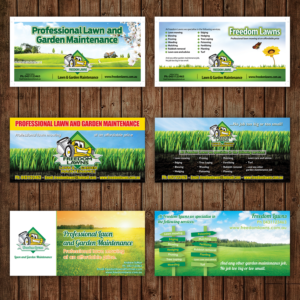 bold serious flyer design job flyer brief for freedom lawns a