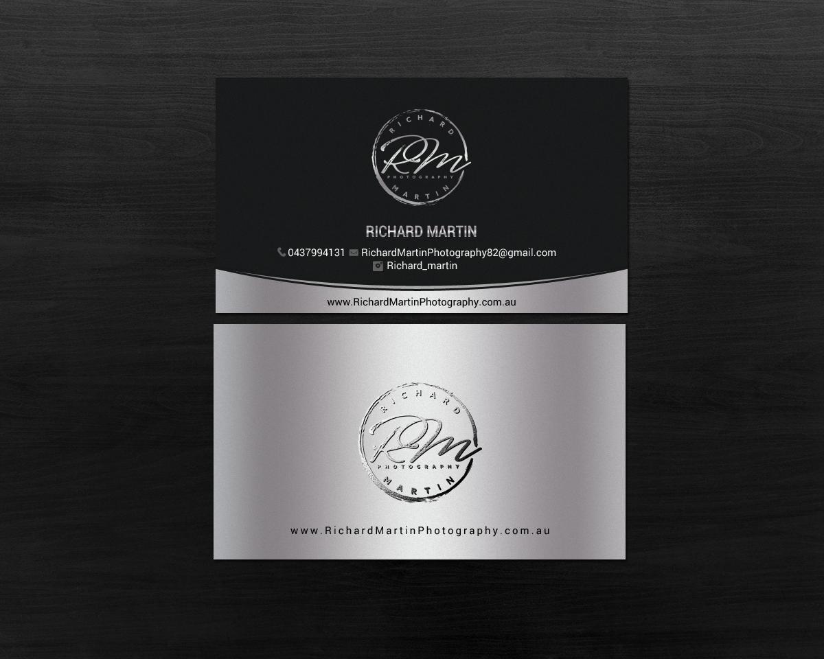 Conservative, Upmarket, Photographer Business Card Design for ...