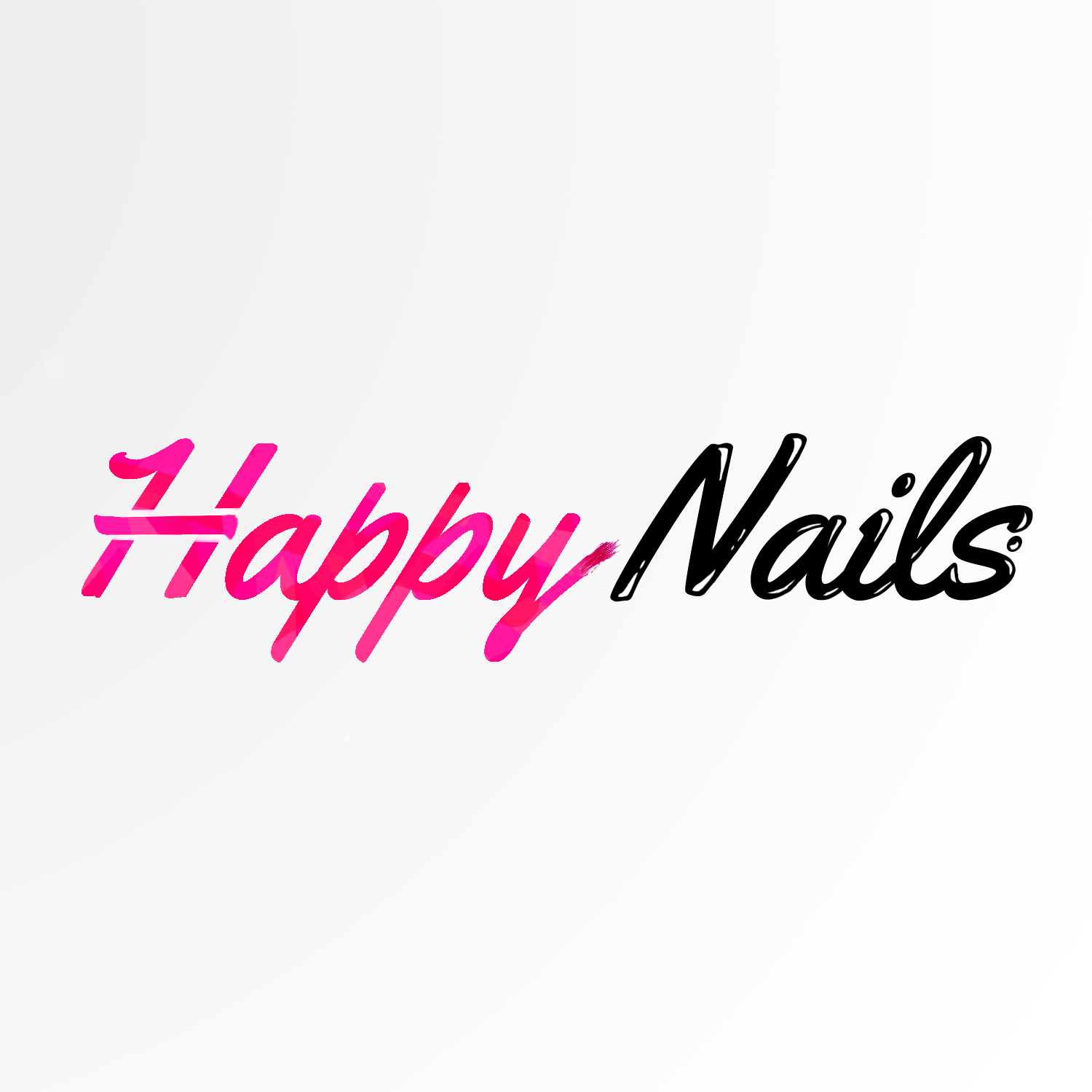 Feminine, Playful, Salon Logo Design for Happy Nails by ...