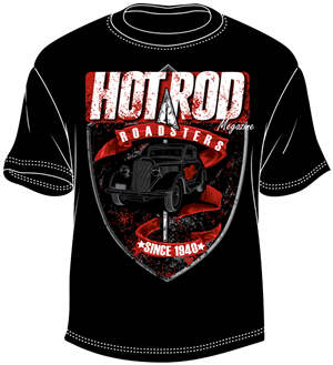 T-shirt Design by BABLEO - Hot Rod Magazine