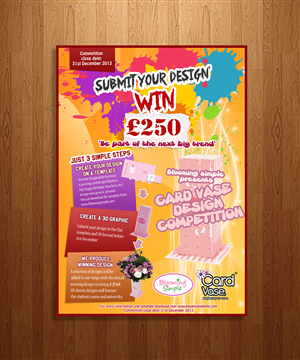 Poster Design by Simple Boy - Card Vase University Competition