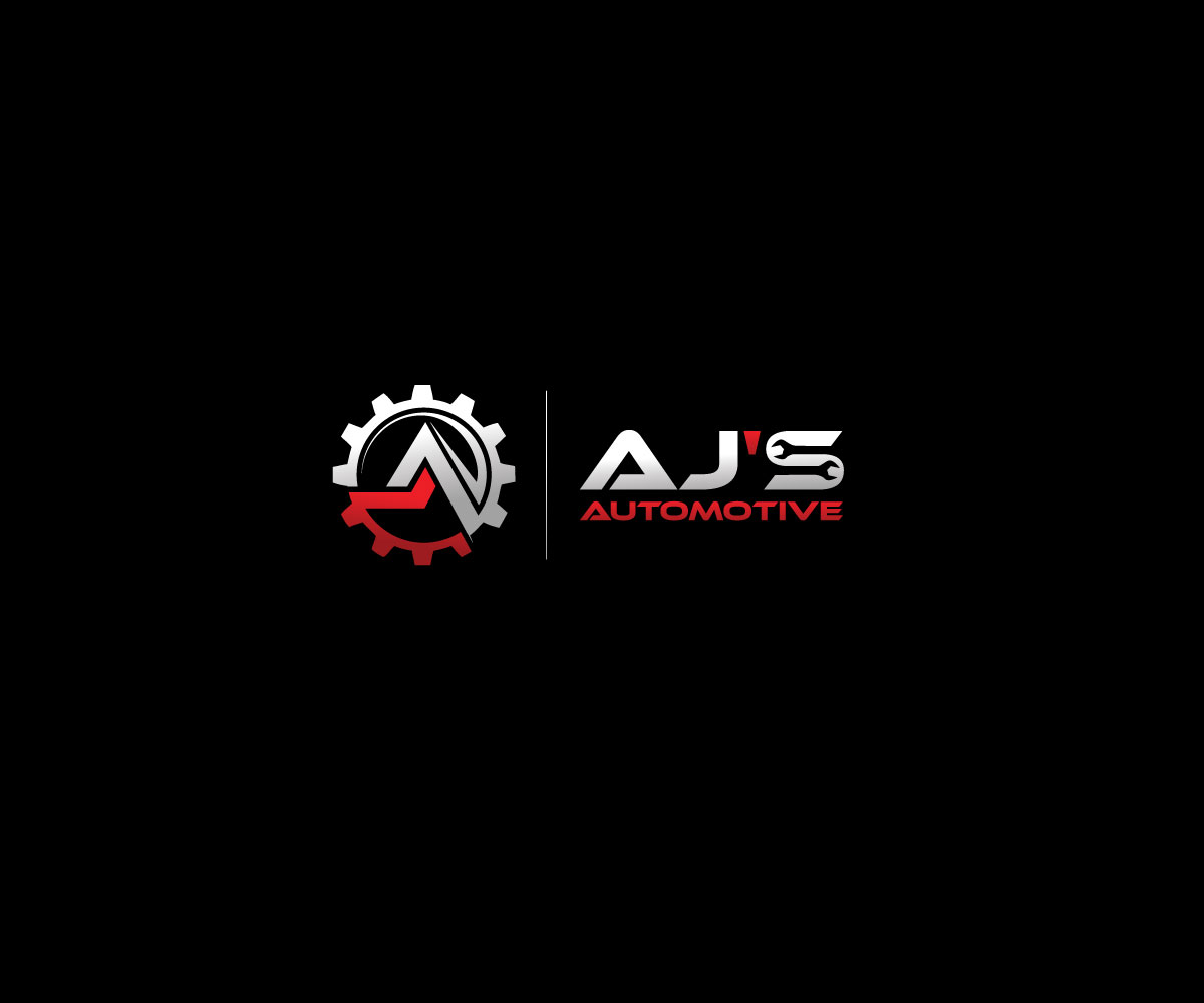 Serious Modern Automotive Logo Design For Aj S Automotive By Tigertwist Design 16324700