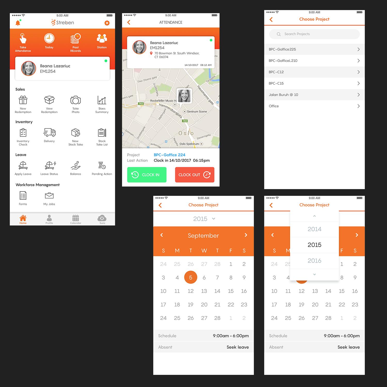 Character Design Job Singapore : Modern upmarket app design by designcarry