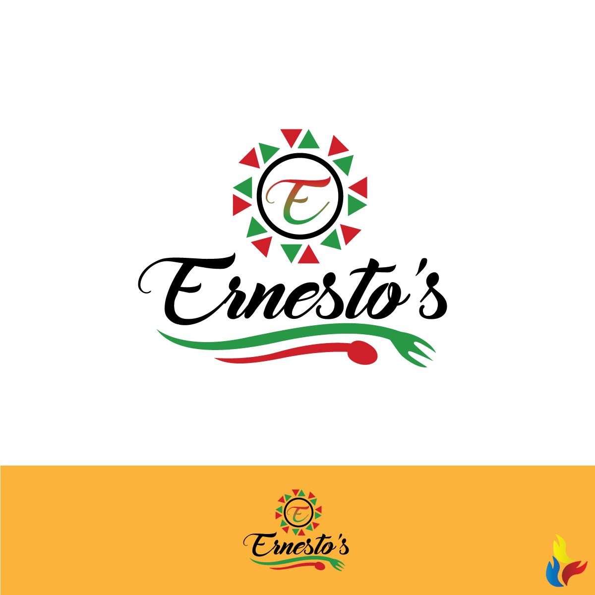 elegant masculine mexican restaurant logo design for ernesto s rh designcrowd com