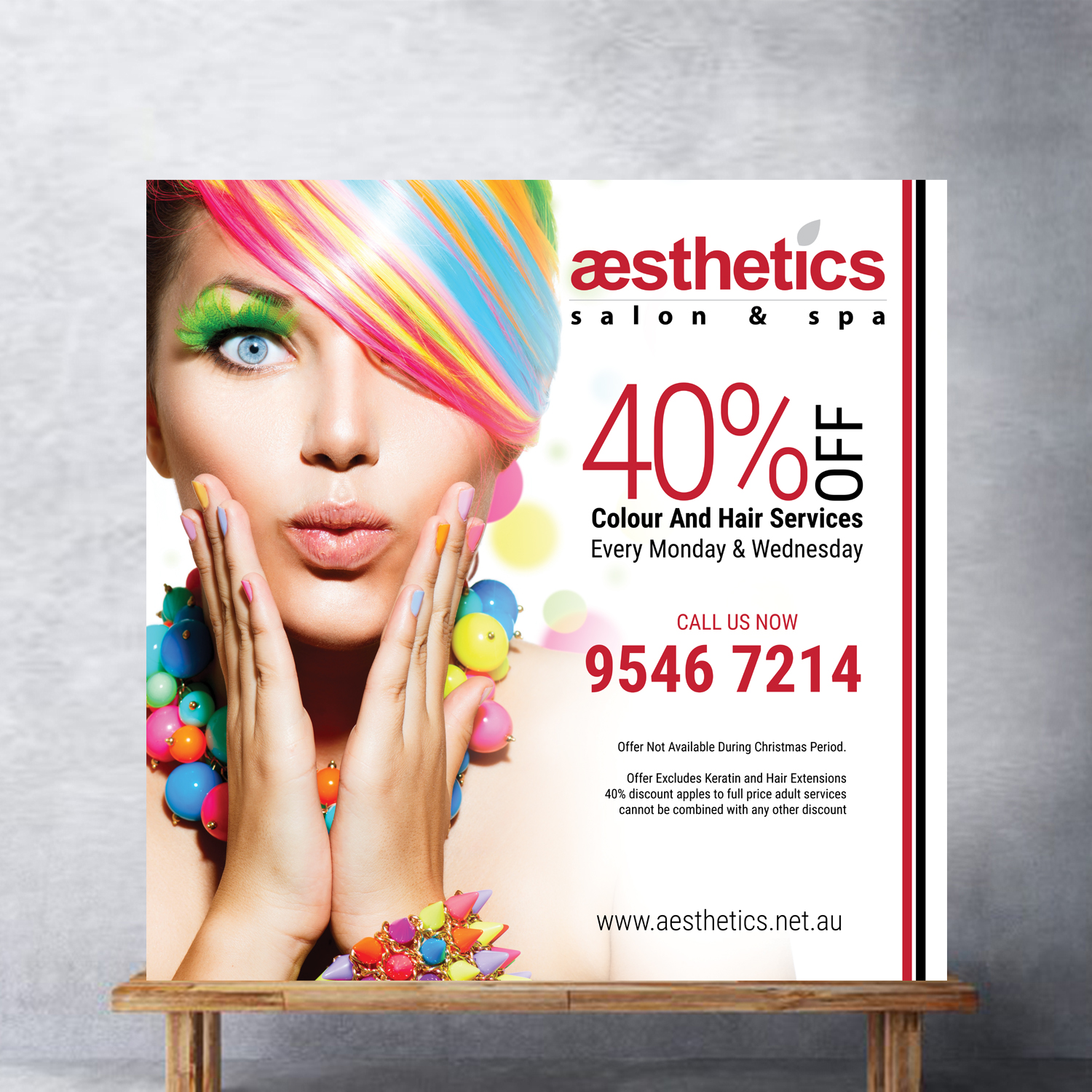 Serious Modern Hair And Beauty Poster Design For Aesthetics Salon Spa By Uk Design 16346634