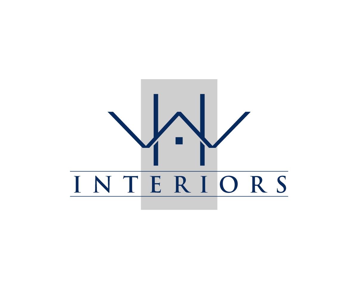 Upmarket, Elegant, Interior Logo Design for HW Interiors ...