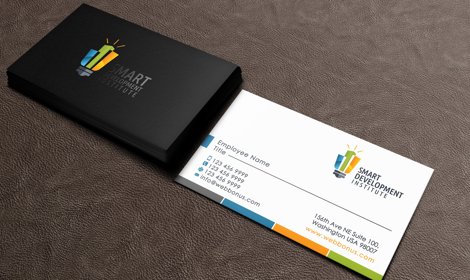 Modern, Conservative, Information Technology Business Card Design ...