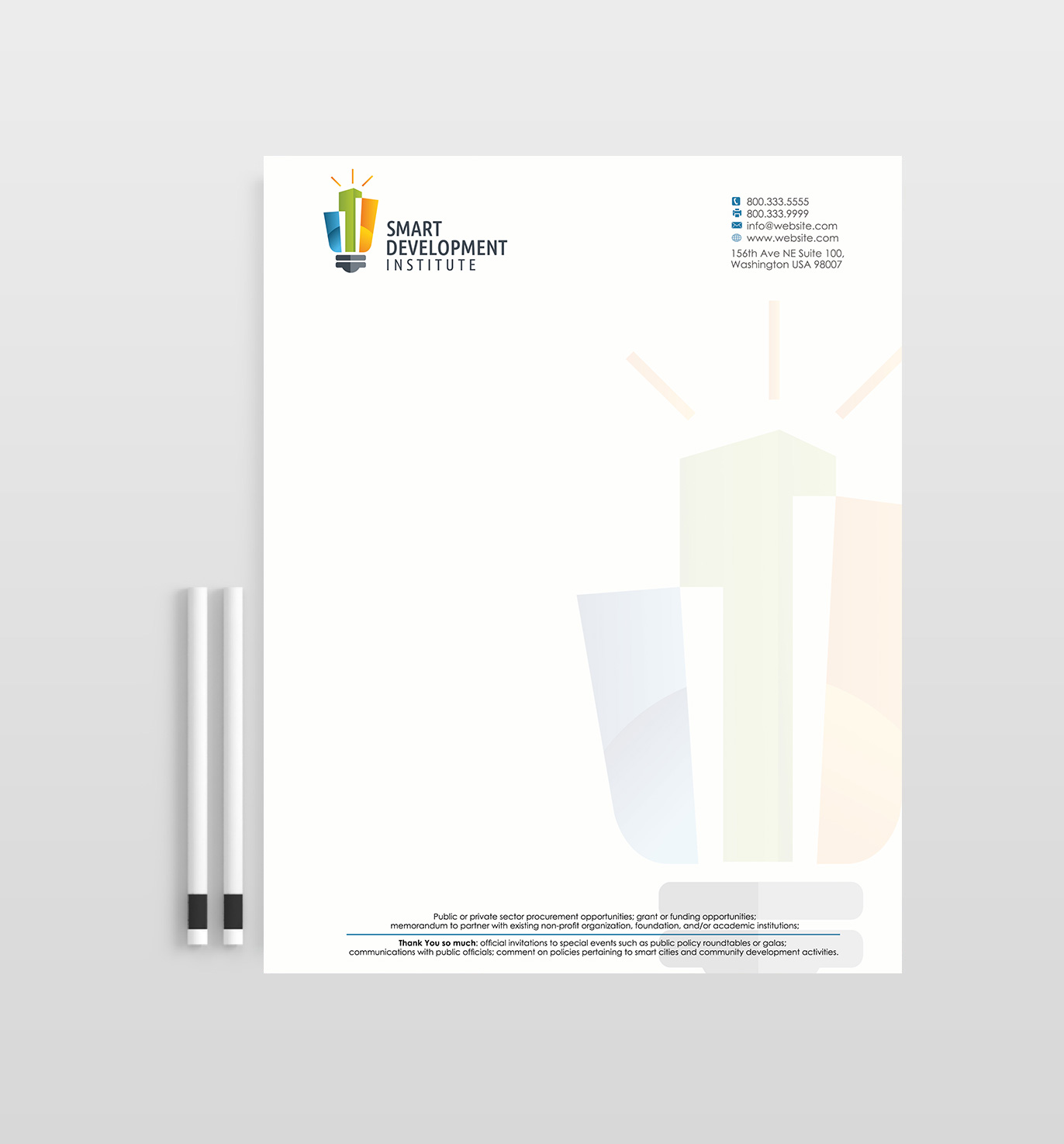 Letterhead Design By Designs 2016 For This Project