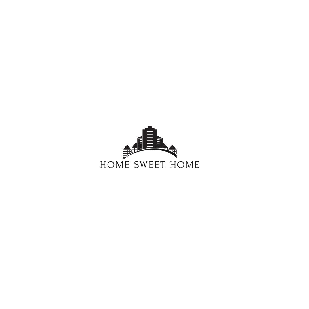 Elegant, Playful, Real Estate Logo Design for Home Sweet Home of ...