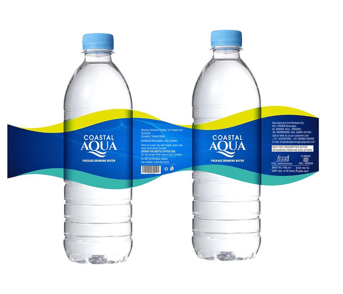 label design by savitra for msn bottlers limited design 16435433