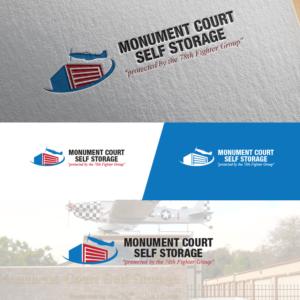 Logo Design For Monument Court Storage By Cracuz09