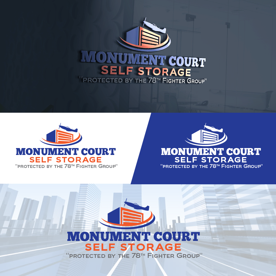 Logo Design By Cracuz09 For Independent Family Owned Self Storage Facility Named Monument