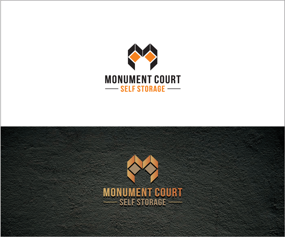 Logo Design By Bijuak For Independent Family Owned Self Storage Facility Named Monument