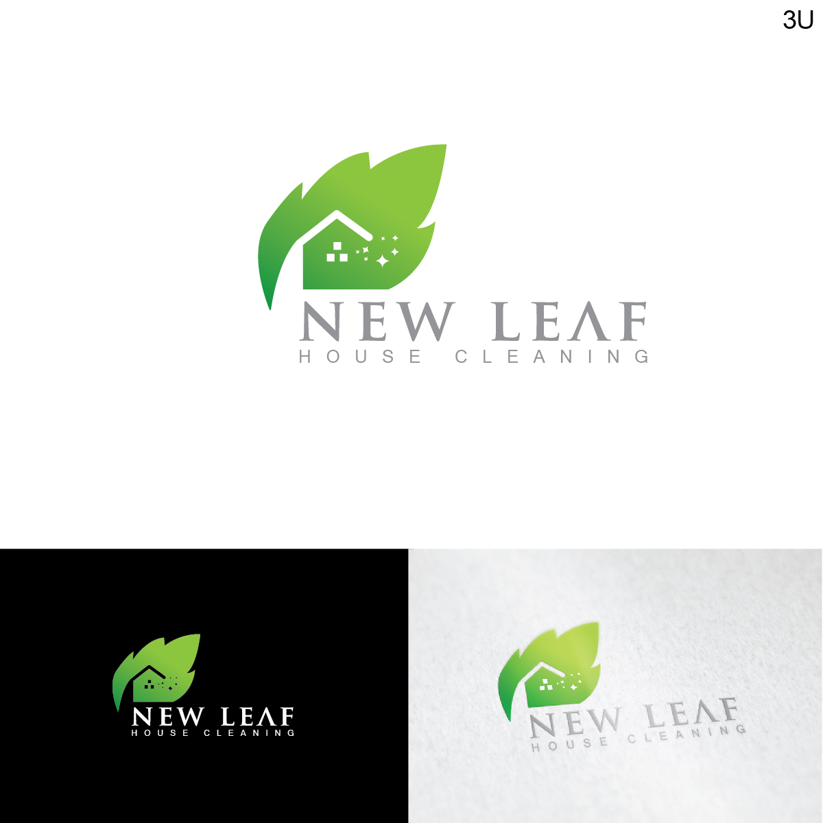 Terrific Elegant Modern Business Logo Design For New Leaf House Download Free Architecture Designs Scobabritishbridgeorg