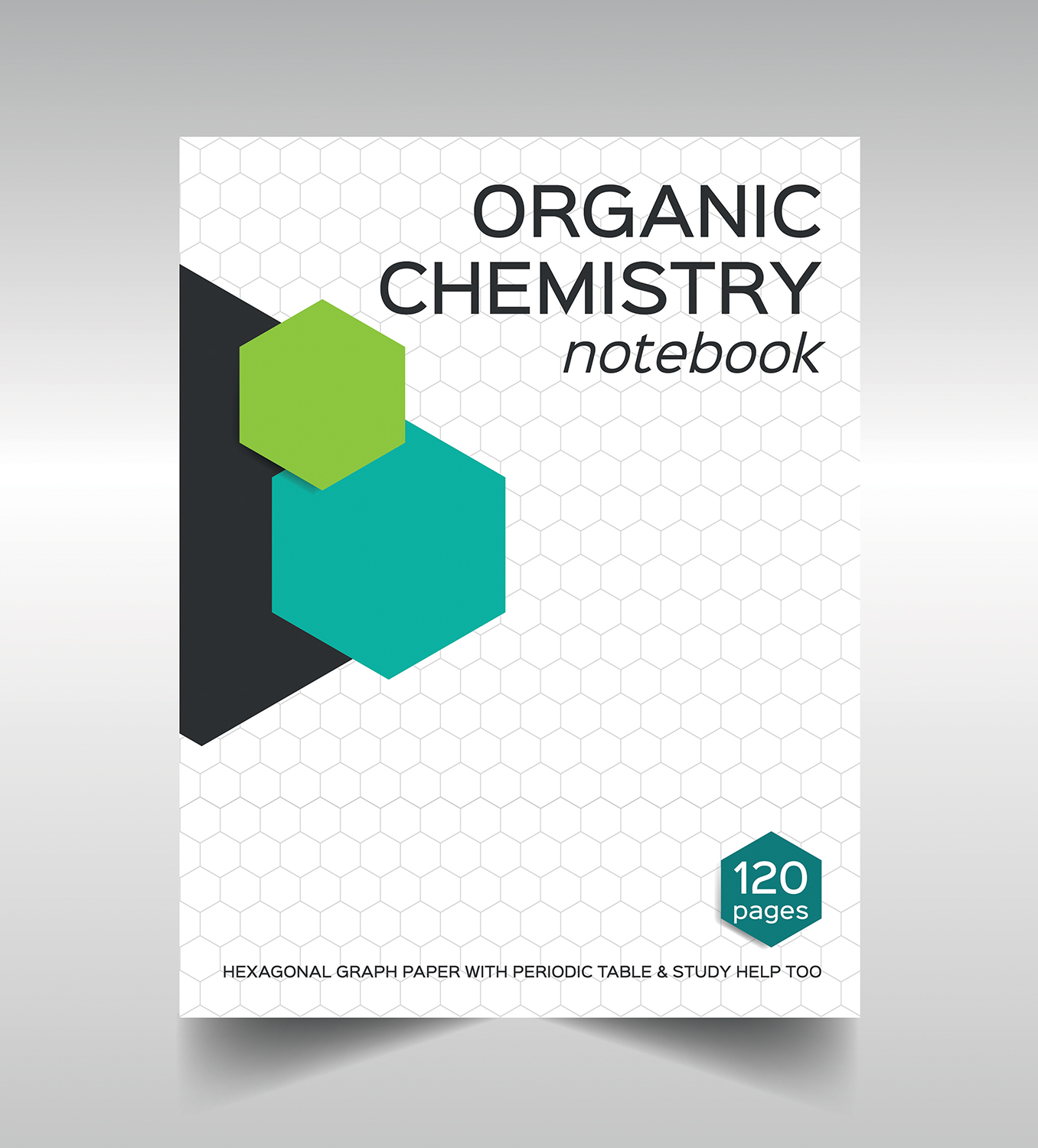 Book Cover Architecture Notes : Serious bold book cover design for aceorganicchem by