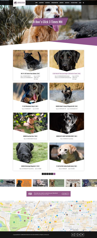 Elegant, Playful, Dog Training Web Design for Oakmont