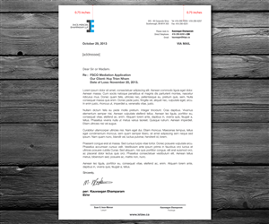 Letterhead Design by anxongdzong
