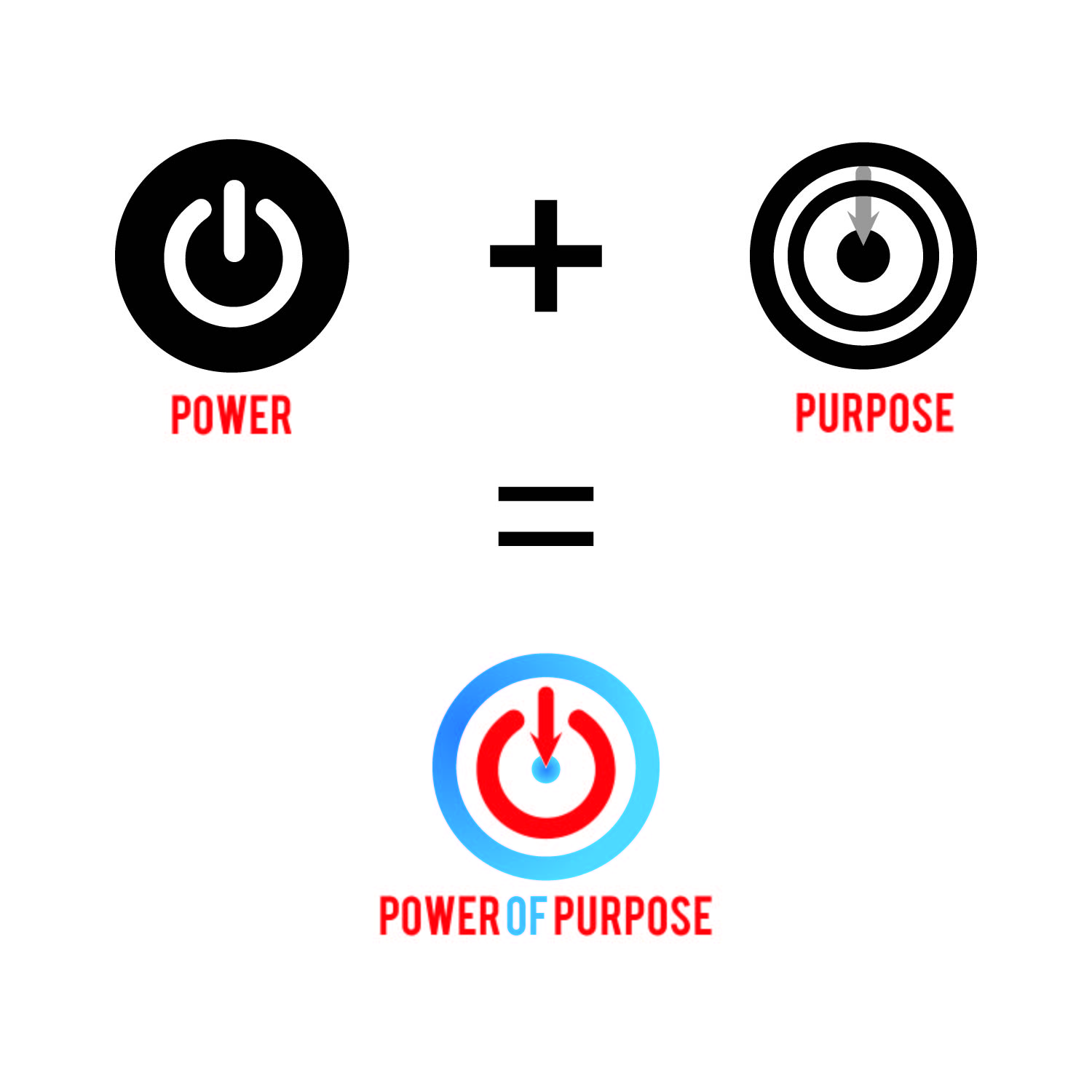 Modern Professional Non Profit Logo Design For Power Of Purpose By