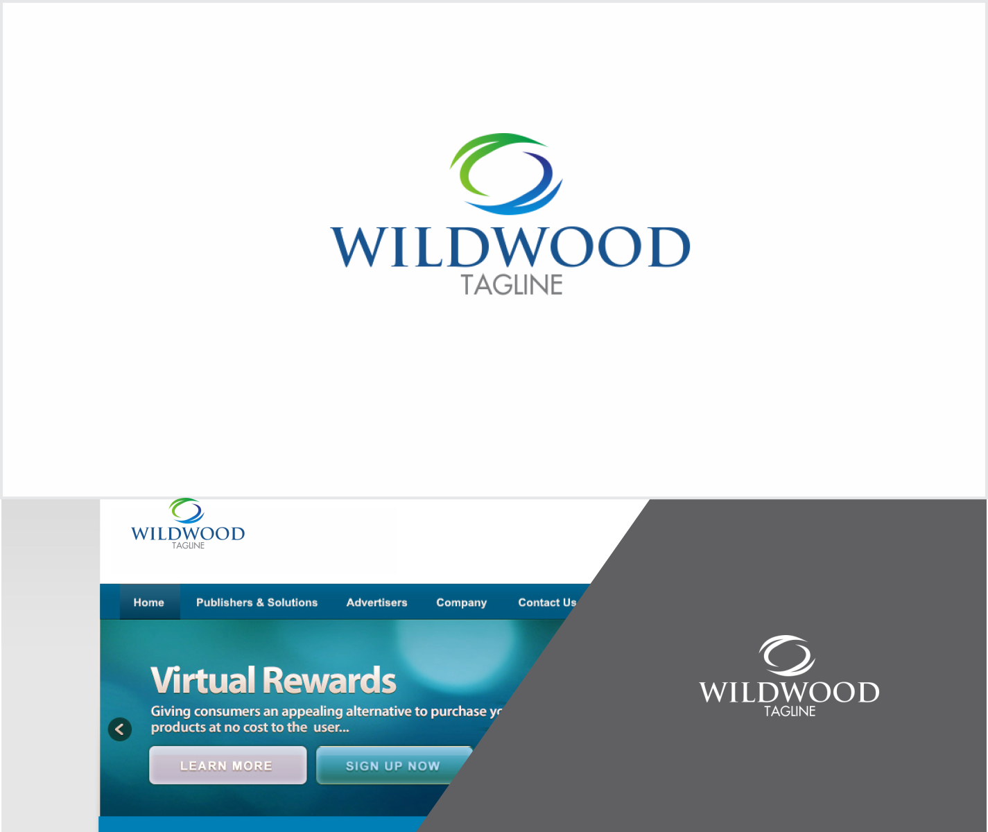Colorful, Personable Logo Design for WILDWOOD / Wild Herbal