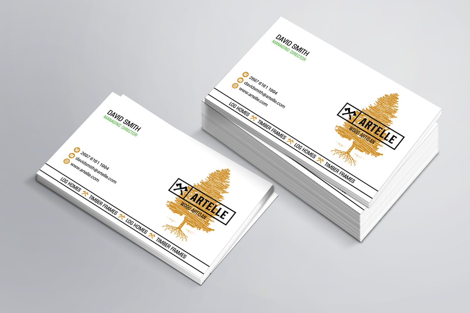 Masculine upmarket construction business card design for a company business card design by sandaruwan for this project design 16499800 colourmoves