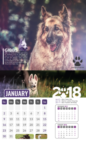 Calendar Design by Black Stallions Impressive Solutions