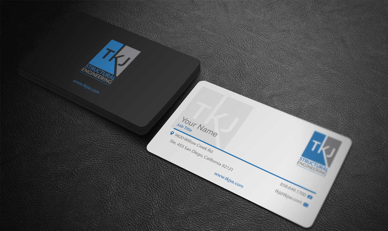 Business Business Card Design for TKJ Structural Engineering by Riz ...