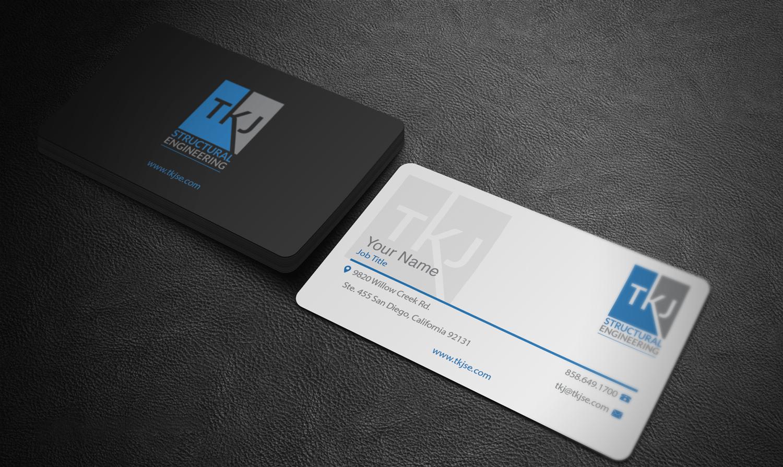 Business business card design for tkj structural engineering by riz business business card design for tkj structural engineering in united states design 16497591 colourmoves