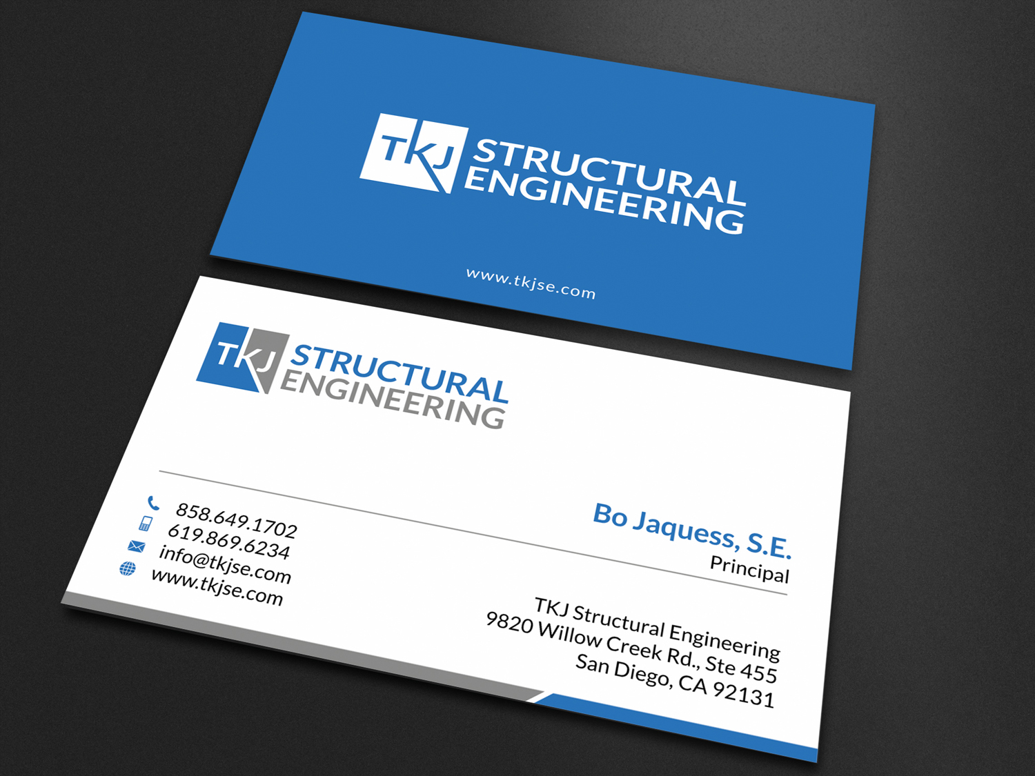 Business business card design for tkj structural engineering by business business card design for tkj structural engineering in united states design 16497240 reheart Images