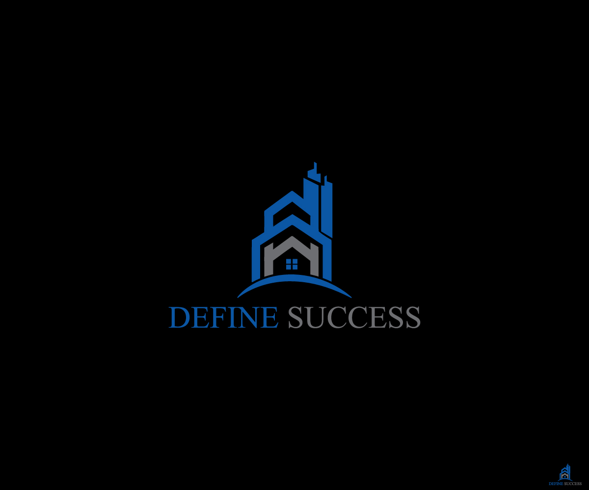 Bold Modern Building Logo Design For Define Success By Black Fox