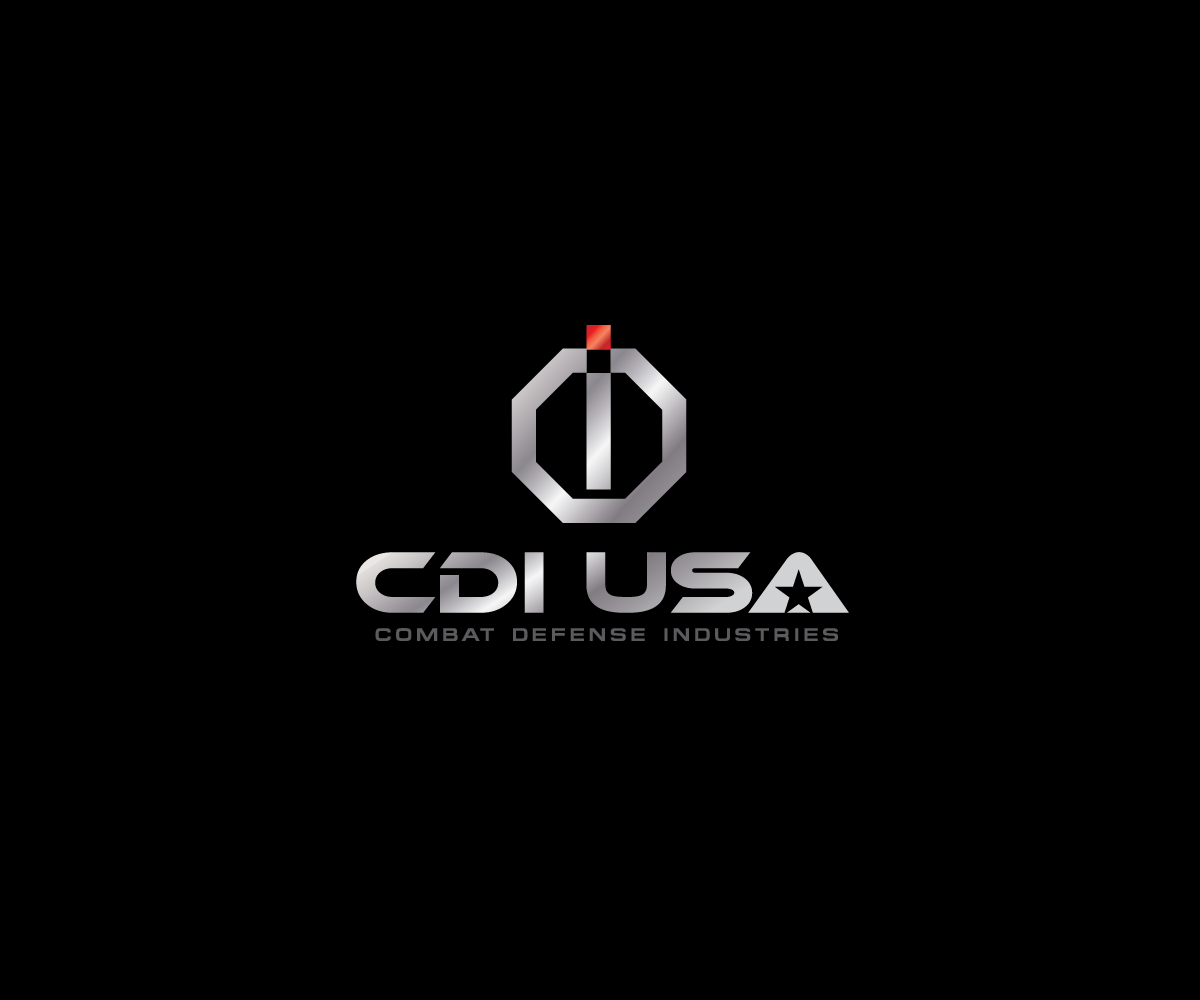 Bold masculine logo design for cdi usa by bucktornado for Design company usa