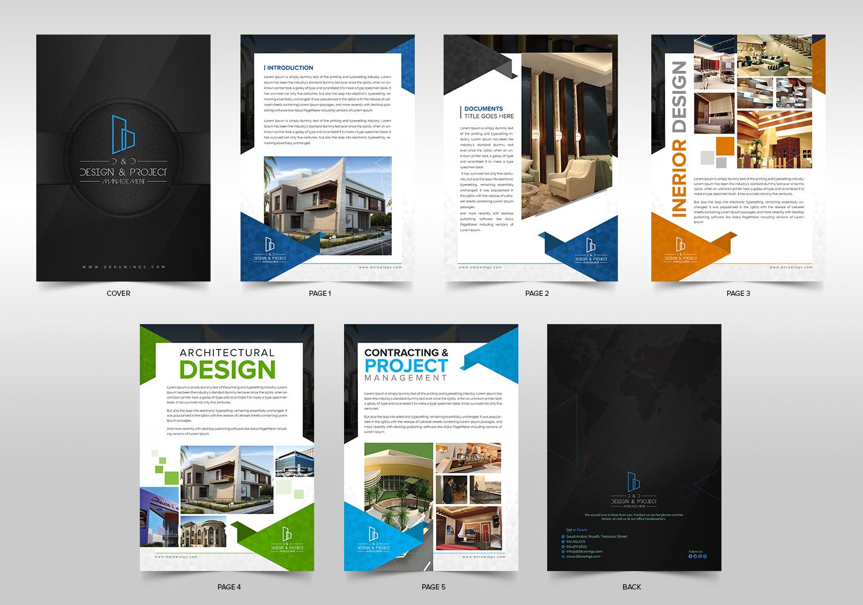 Fett Professionell Architecture Katalog Design Für Dd Von Sd