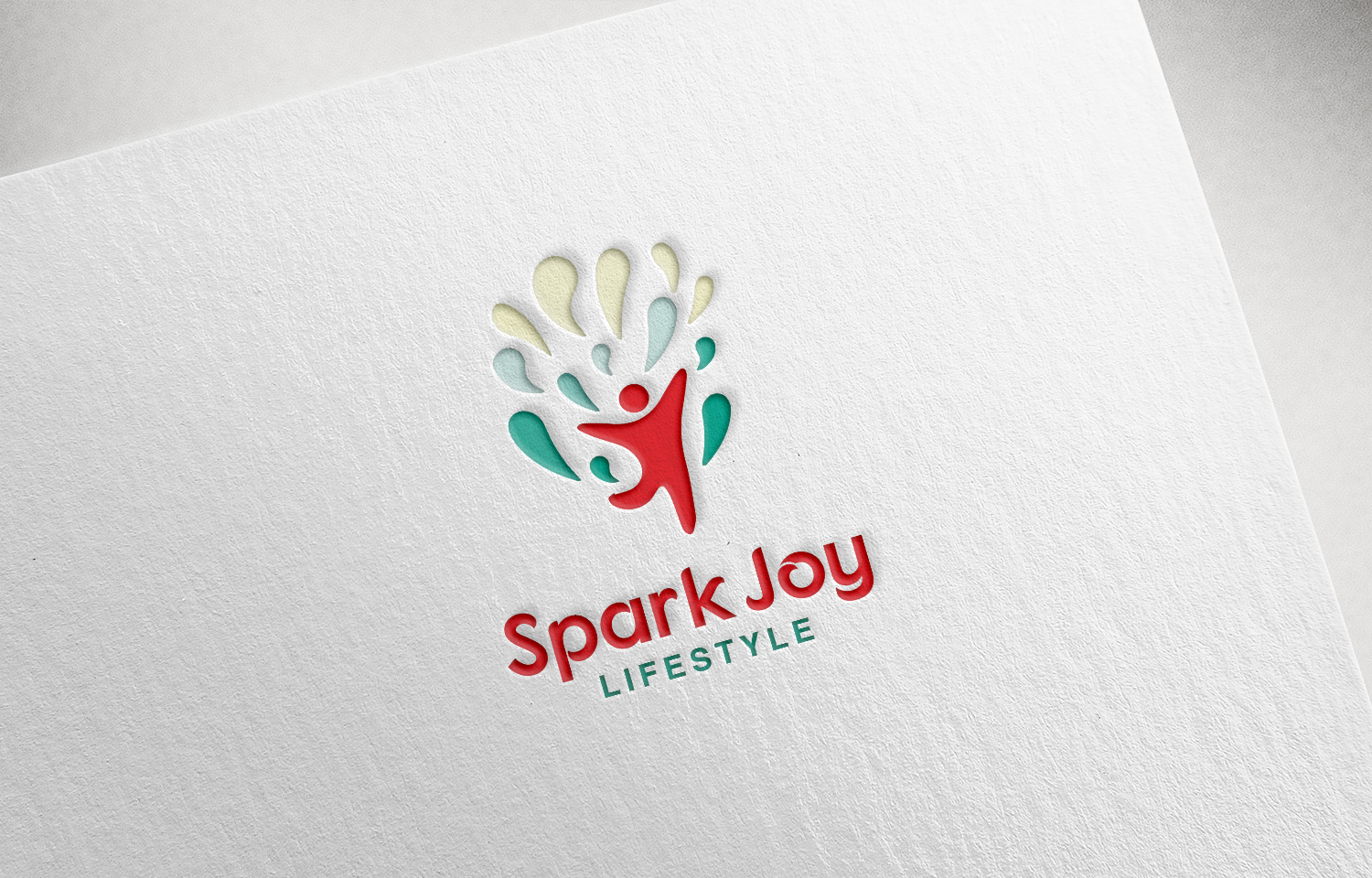 Modern upmarket it company logo design for spark joy for Grafik design