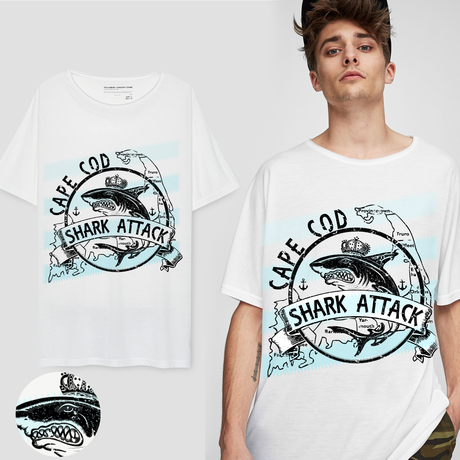 Masculine Upmarket Nautical T Shirt Design For A Company By Tolga