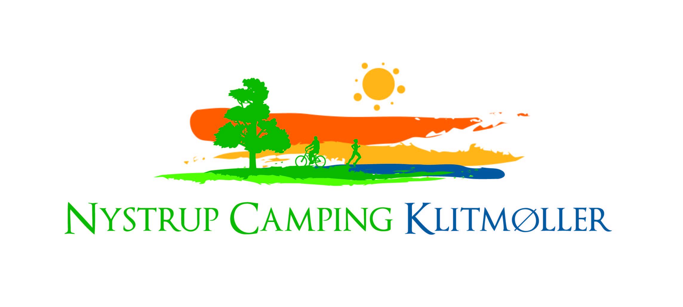 logo design for nystrup camping klitm248ller by logos4u