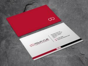pour vue business card design by xpert