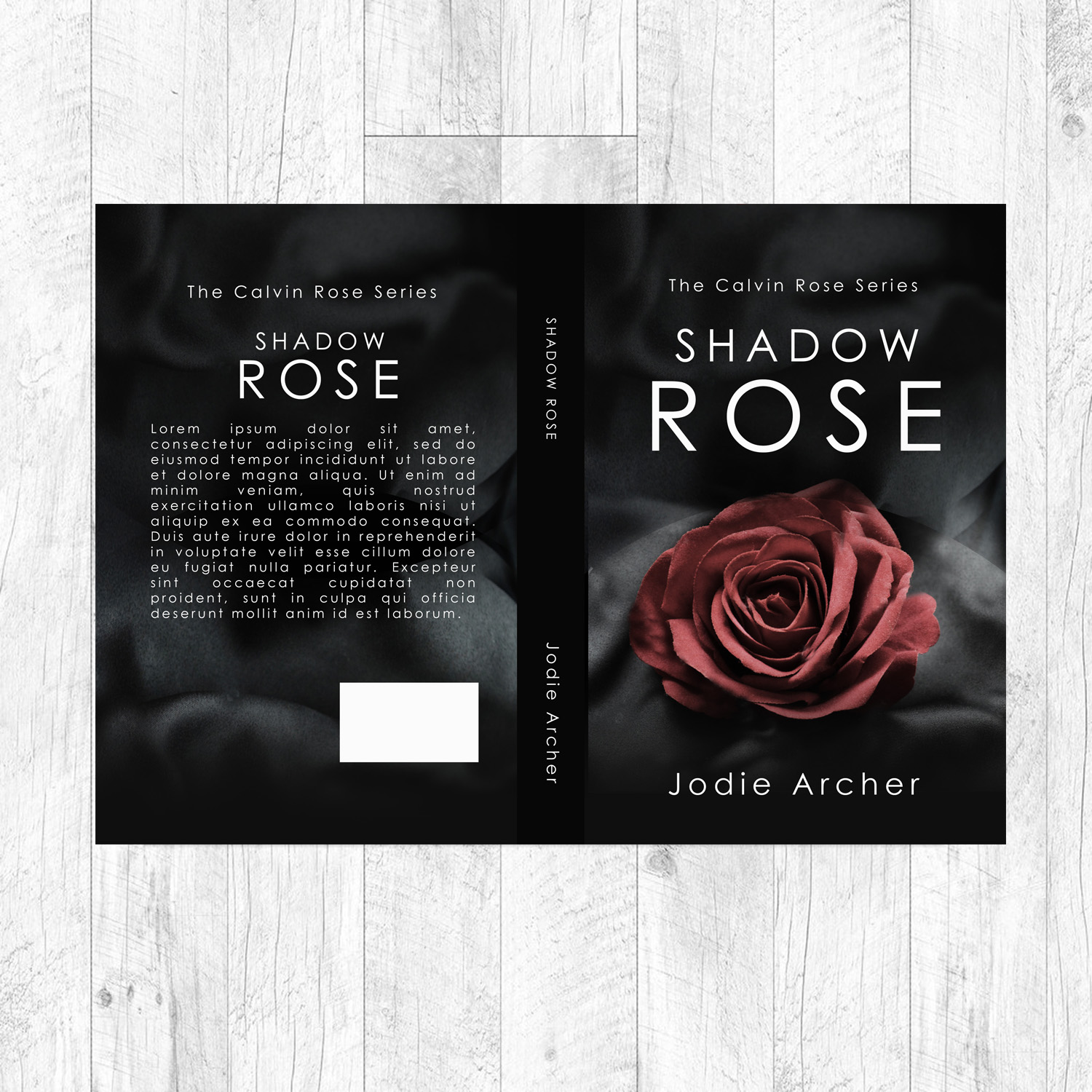 Modern Romance Book Cover ~ Elegant playful book cover design for jodie archer by
