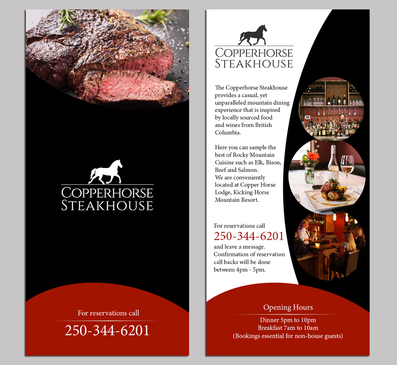 Elegant, Traditional, Restaurant Flyer Design for a Company by PAS ...