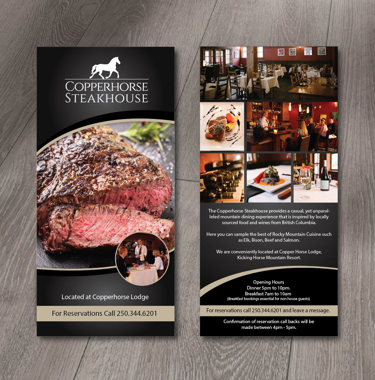 Elegant, Traditional, Restaurant Flyer Design for a Company by ...