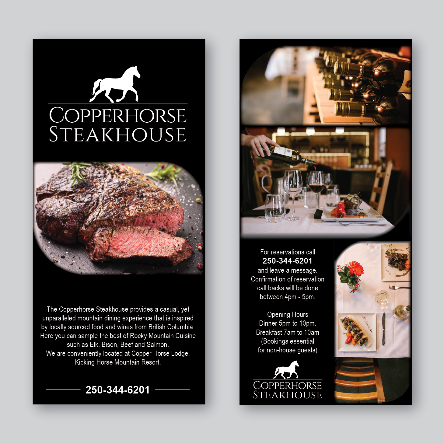 Elegant, Traditional, Restaurant Flyer Design for a Company by Antun ...