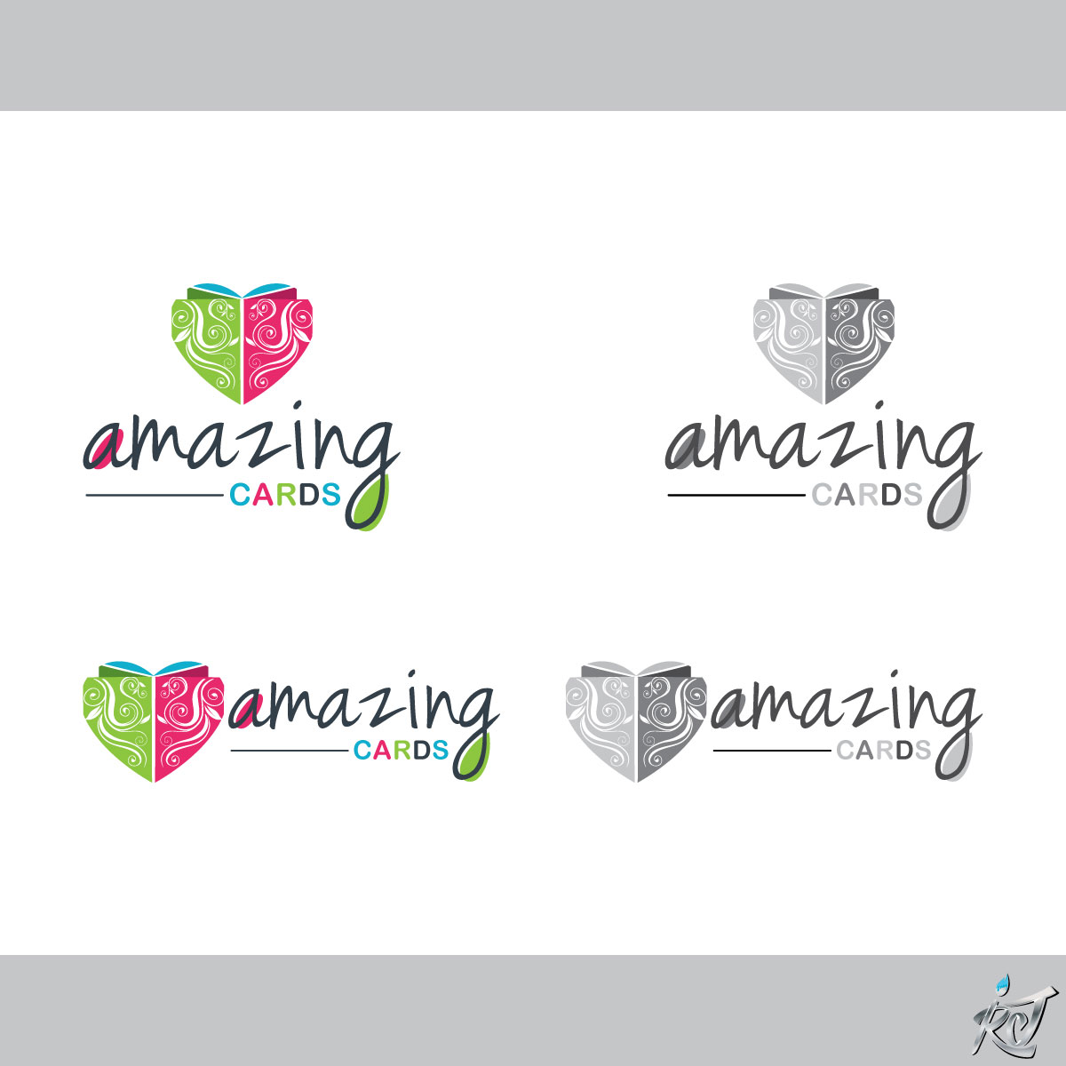 Modern Upmarket Store Logo Design For Amazing Cards By Rr