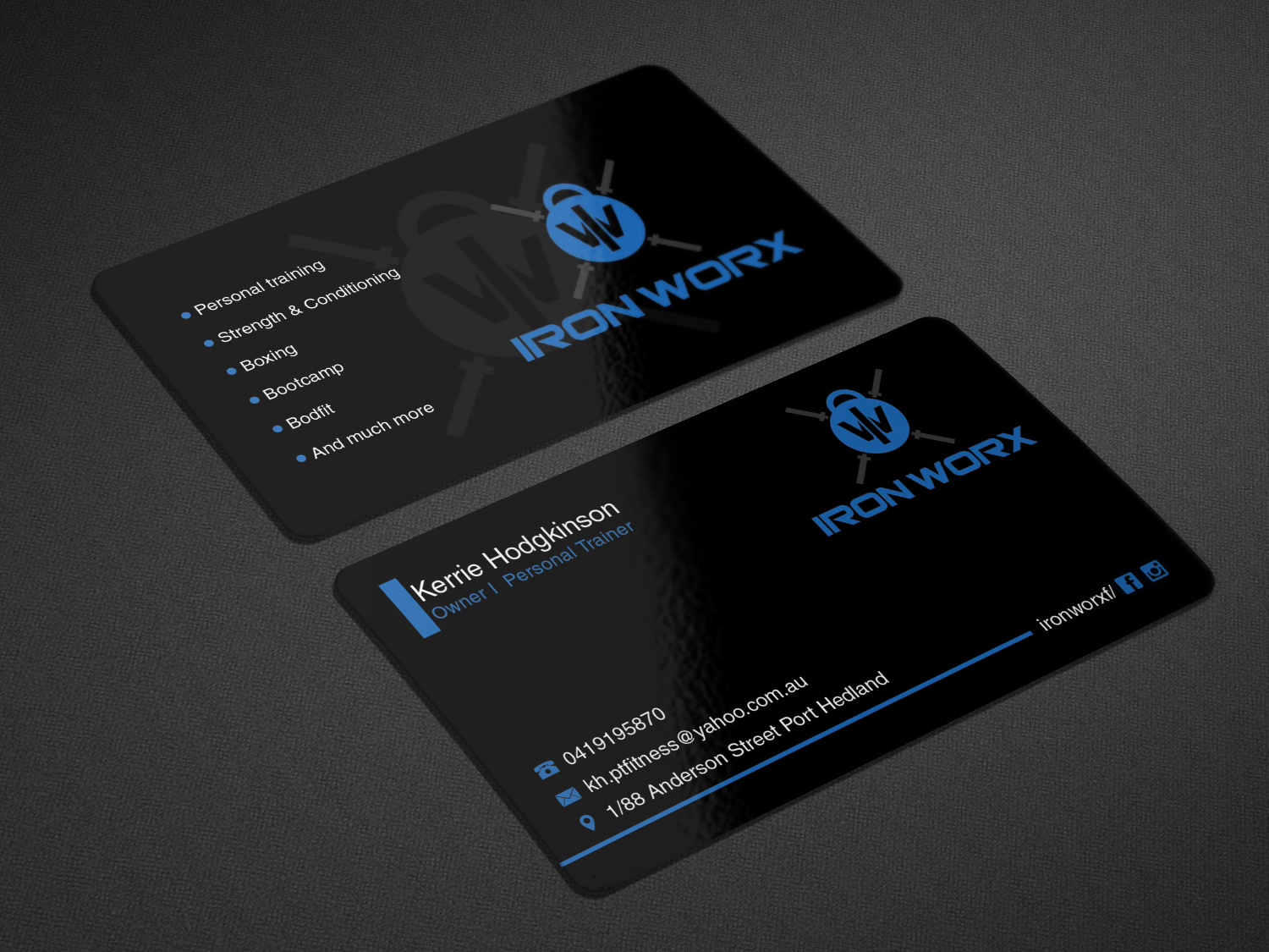 5 Personal Business Card Designs | Business Business Card Design ...