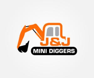 Bold Colorful Residential Construction Logo Design For Jj Mini