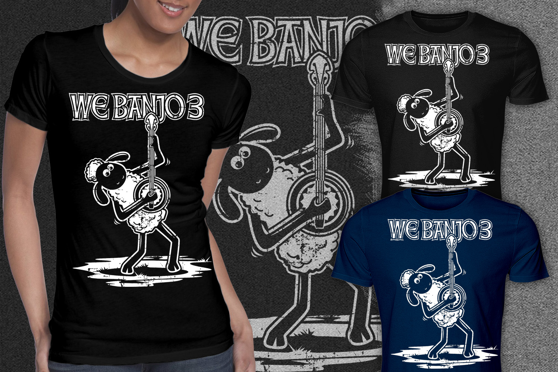 Bold Playful T Shirt Design For We Banjo 3 By Falih A