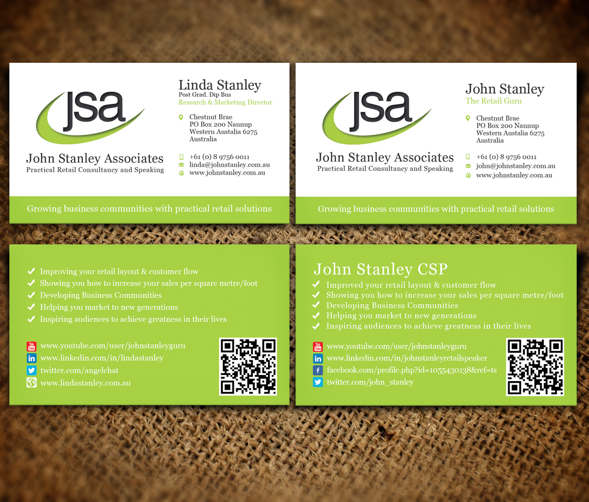 Elegant serious training business card design for john stanley business card design by nelsur for john stanley associates design 2666051 colourmoves Images