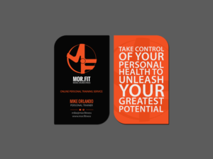 Personal trainer business card designs personal trainer business card design by creations box 2015 colourmoves Gallery