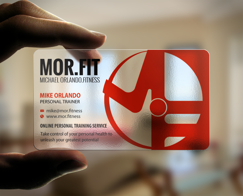 239 Professional Business Card Designs | Personal Trainer Business ...